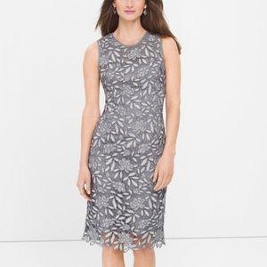 NWT WHBM Lace Sheath Dress